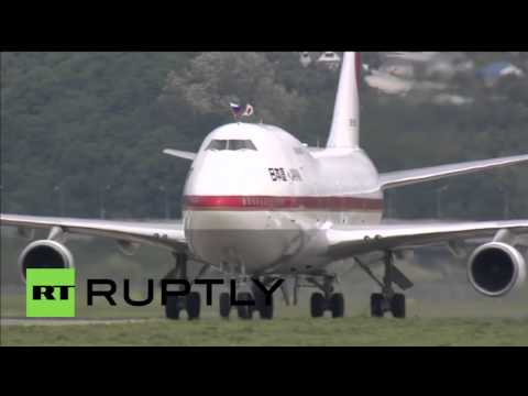 Russia: Japanese PM Shinzo Abe arrives in Sochi for talks with Putin