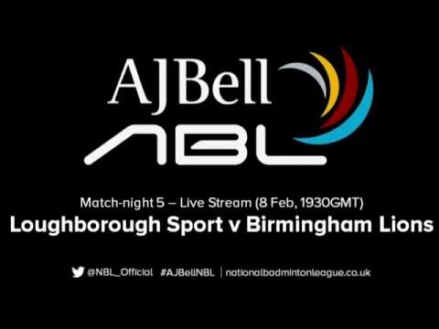 AJ Bell National Badminton League LIVE: Loughborough Sport v Birmingham Lions