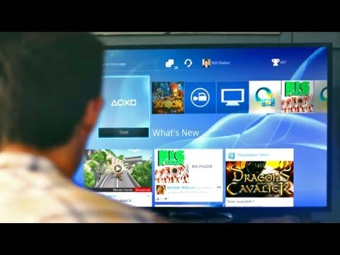 First Look: The New PS4 Interface Preview