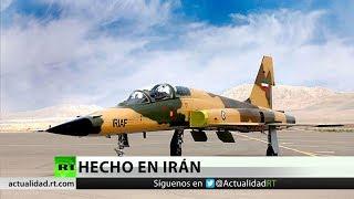 Irán presenta su primer caza de producción nacional con sistemas de última generación