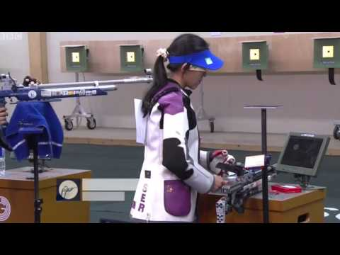 Apurvi Chandela - Wins Gold for India - 2014 Commonwealth Games - 10 Metres Air Rifle Women