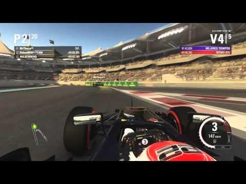F1 2015 MUNDIAL COOPERATIVO #10 FINAL (ABU DHABI) CON MRTHECA
