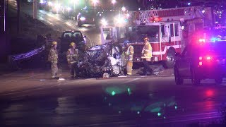 Wrong way driver suspected of DUI after crash on I-25 in Colorado Springs