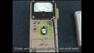 How to use a Geiger Counter