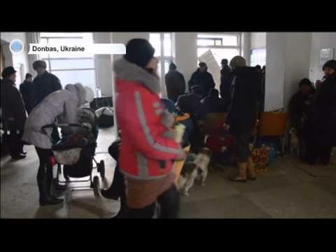 UN Chief Backs OSCE Calls for Truce in East Ukraine: Over 2,000 Ukrainians left conflict zone