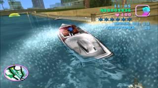 gta vice city deluxe трюки на лодке сохранение