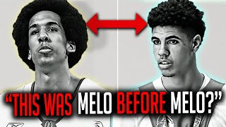 This Man Was LaMelo BEFORE LaMelo Ball!? LAMELO BALL COMPARISON!