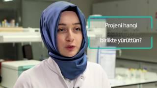 Moleküler Biyoloji ve Genetik öğrencisi Kevser Bayrak TÜBİTAK projesini anlatıyor