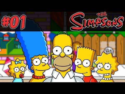 The Simpsons Arcade #01 - Ó Michael Jackson Ali