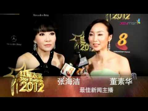 Zhang Haijie interview with Xinmsn, Best News Presenter