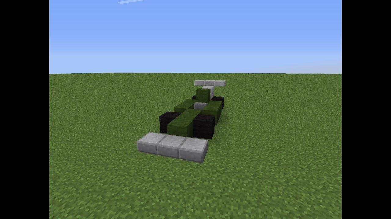 Minecraft как сделать машину без мода