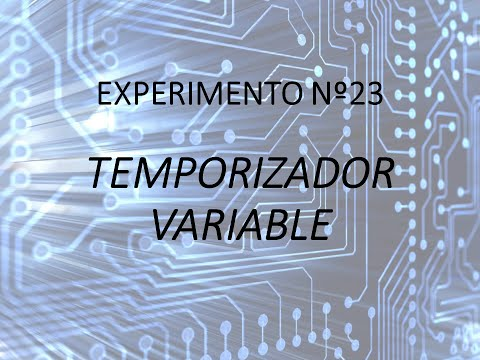 Proyecto Experimental N°23 - Temporizador variable
