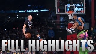 2016 NBA Dunk Contest ALL Zach LaVine & Aaron Gordon DUNKS in HD!
