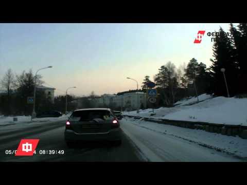 В Новоуральске автомобиль сбил женщину на пешеходном переходе