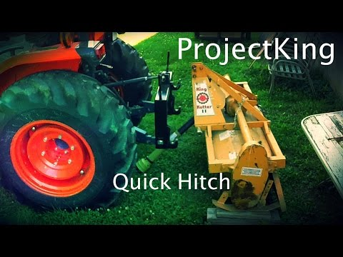 #1.  Accessories Your Tractor Needs!  Quick Hitch