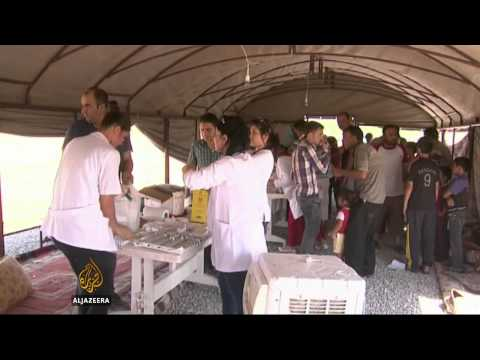 US rescue of Iraq's Yazidis now 'less likely'