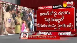 Inter Results Goof Up: Students, Parents stage protest | హైదరాబాద్లో ఇంటర్ బోర్డు దగ్గర ఉద్రిక్తత..