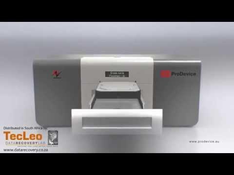 Hard Disk Data Destruction and Sanitization using the Prodevice ASM 120 Degausser