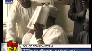 Police Pension Scam_EFCC remands 6 accused persons in custody