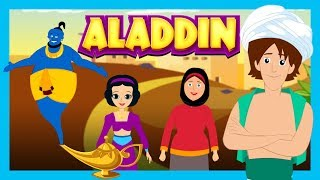 ALADDIN AND THE MAGIC LAMP - Story For Kids || ARABIAN NIGHTS