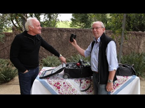 Pro Photographer Bob Holmes-- What's in My bag?