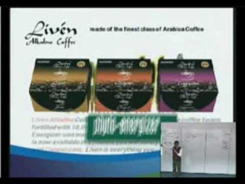Liven Alkaline Coffee and MyChoco Alkaline Choco Drink with DHA