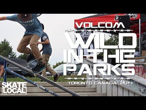"VOLCOM ""WILD IN THE PARKS"" 2014 :: TORONTO, CANADA"