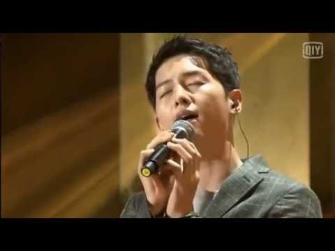 160617 송중기 Song Joong Ki FM Sing Kiss Goodbye 宋仲基唱中文歌Kiss Goodbye