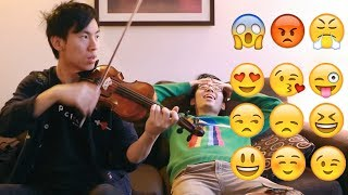 Emotional Sounds on the Violin