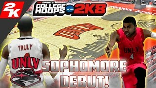 College Hoops 2K8 - MyCareer - The Comeback! Sophomore Season Debut!