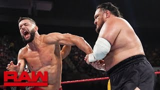 Finn Bálor vs. Samoa Joe: Raw, July 15, 2019