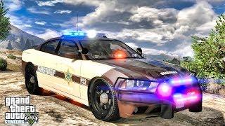 GTA 5 MODS LSPDFR 1066 - BLAINE COUNTY PATROL!!! (GTA 5 REAL LIFE PC MOD)