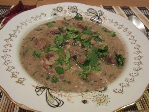 """Суп """"Харчо"""" (классический рецепт). Грузинская кухня."""