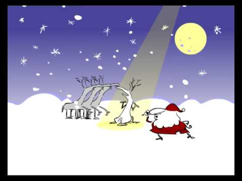 White Christmas With Santa Amp His Reindeer YouTube