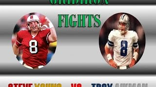 Gridiron Fights - Steve Young vs Troy Aikman (Full Debate)