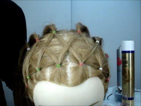 Peinado de niña con coletas-Pedido Ana Moya