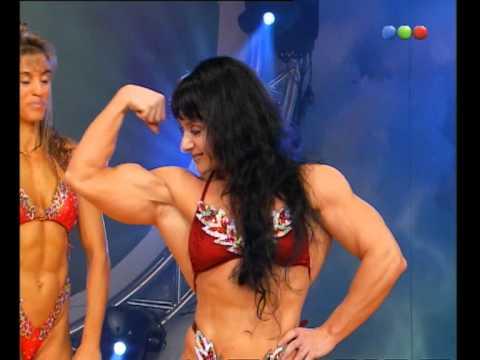 Físico Culturista, Mónica Díaz - Videomatch