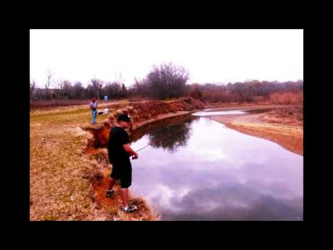 Fishing at Lewisville Lake 3/13!