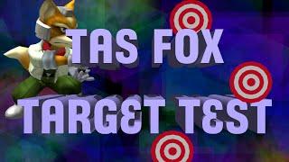 [TAS] Fox Does Every Target Test Stage (SSBM)