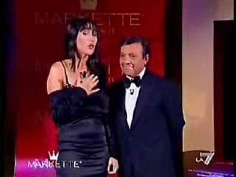 Monica Bellucci a Markette