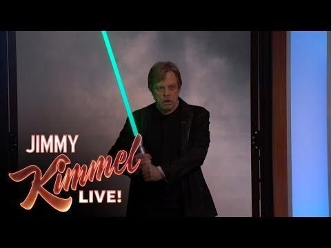Star Wars Fan Adam Scott Surprised by His Idol Mark Hamill