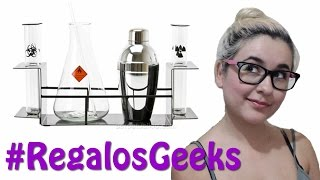Set de cocteleria Geek para bebidas - Episodio 1 de #RegalosGeek