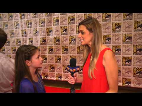 Mackenzie Foy Talks 'Breaking Dawn Part 2' at Comic-Con