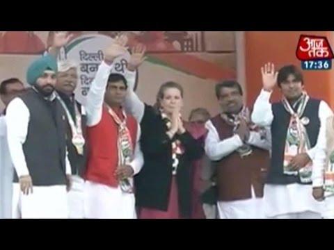 Dilli ka Dangal: Sonia Gandhi attributes Delhi's progress to Sheila Dikshit's rule