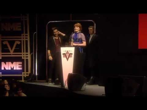 Florence Wins Best Dancefloor Anthem - NME Awards 2013