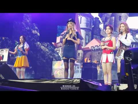 [FANCAM] 151031 Wonder Girls Fan Party in Bangkok #5 - play game with lucky fans