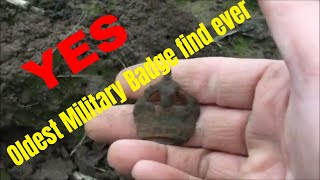 Metal Detecting Finds Uk. Last Hunt Of 2018 Uncovers Military item 1914 -1918