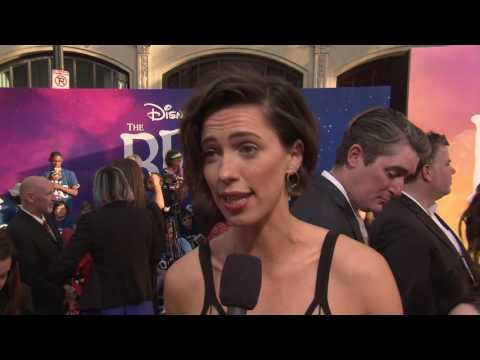 """The BFG: Rebecca Hall """"Mary"""" US Movie Premiere Interview"""