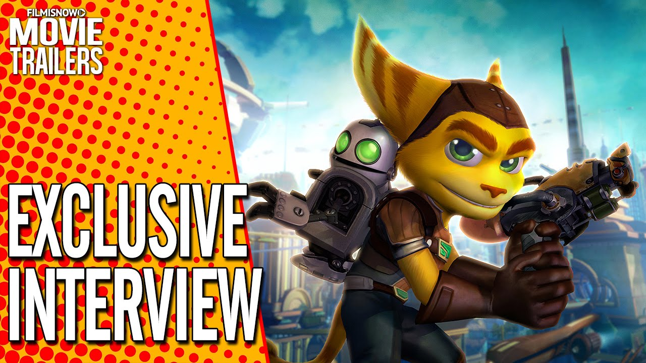 RATCHET & CLANK | Exclusive Cast Interviews [Wondercon 2016] HD