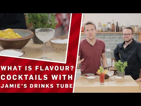 What Is Flavour? Cocktails with Jamie Oliver's Drinks Tube - Brit Lab
